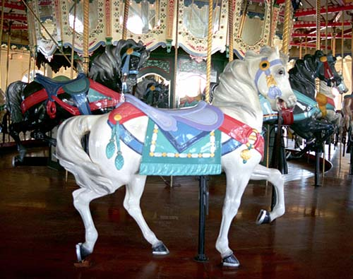 Santa Monica Pier's Loof Carousel, Santa Monica, California / Fine Art Photography by Steven